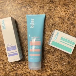 Bliss Moisturizing Face + Body Care Products